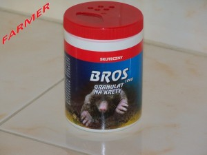 Bros Granulat Na Krety 10 GB 120 ml.